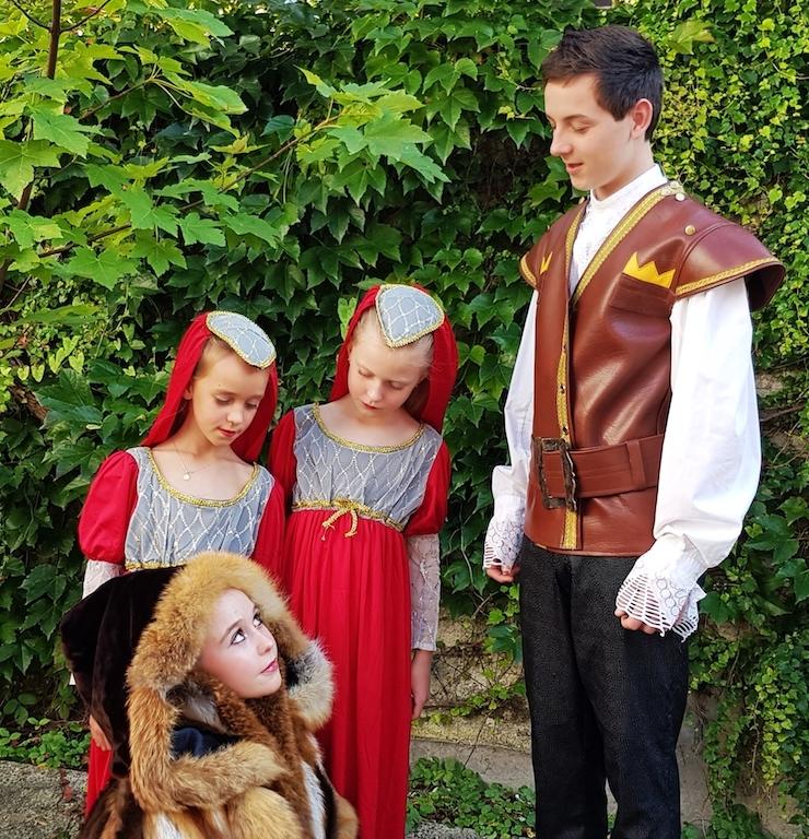 Prinz Leo trifft Allerleirauh