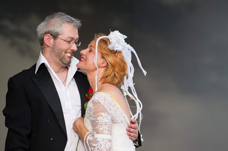 Die Hochzeit - Lucy und Glibsch 2014/2015