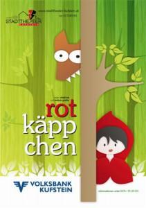 Plakat Rotkäppchen
