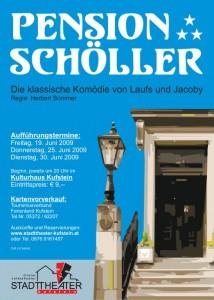 Pension Schöller Plakat