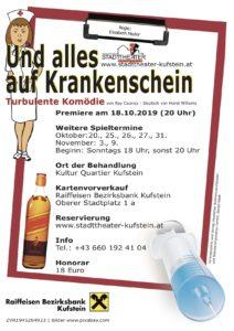 Und alles auf Krankenschein @ Kultur Quartier Kufstein