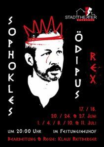 Plakat Ödipus Rex