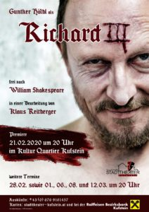 Richard III @ Kultur Quartier Kufstein