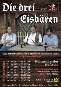 Die drei Eisbären @ Kultur Quartier Kufstein